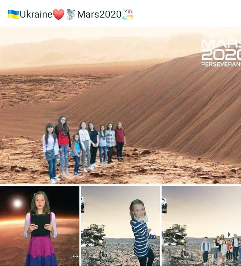 Фото дівчат із Прикарпаття розмістили на сайті NASA